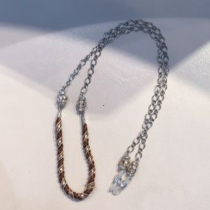 Eyeglass chain holder/necklace